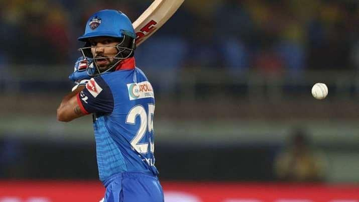 Shikhar Dhawan is in roaring form. Pic Courtesy: India TV News