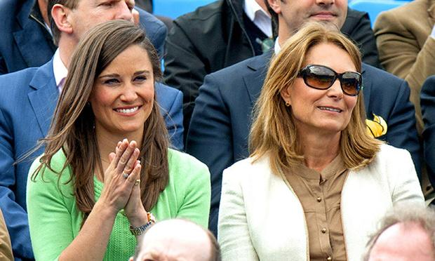 Pippa Middleton and her mother