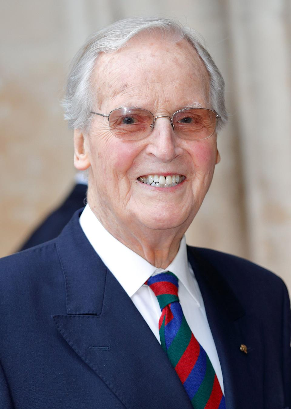 <strong>Nicholas Parsons (1923 - 2020)<br /><br /></strong>The broadcasting legend was best known as the host of Radio 4's Just A Minute and the ITV game show Sale Of The Century.
