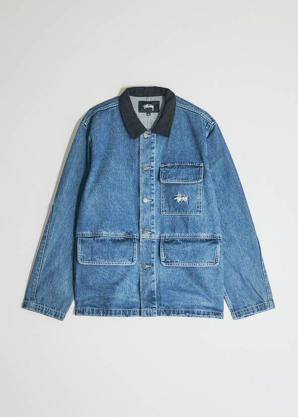 """<p><strong>Stussy</strong></p><p>needsupply.com</p><p><strong>$170.00</strong></p><p><a href=""""https://go.redirectingat.com?id=74968X1596630&url=https%3A%2F%2Fneedsupply.com%2Fdenim-chore-coat-in-blue%2FMCA100669.html&sref=https%3A%2F%2Fwww.esquire.com%2Fstyle%2Fmens-fashion%2Fg33251966%2Fneed-supply-closing-summer-sale%2F"""" rel=""""nofollow noopener"""" target=""""_blank"""" data-ylk=""""slk:Buy"""" class=""""link rapid-noclick-resp"""">Buy</a></p><p><em>Maaan</em>, you already know what it is. </p>"""