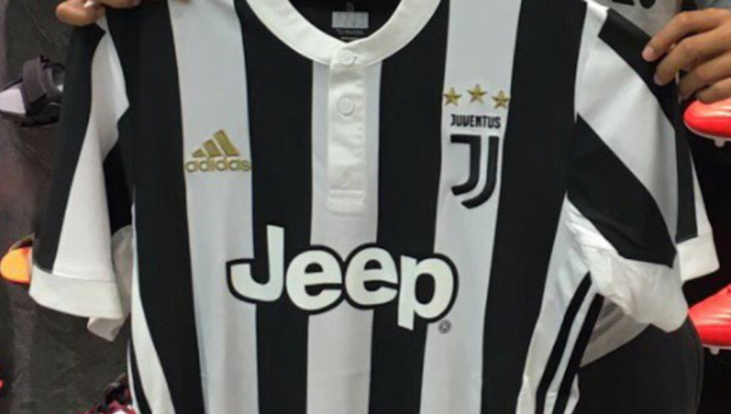 reputable site 46c3c a4e6a Leaked: Full Juventus home kit for 2017/2018 season surfaces ...