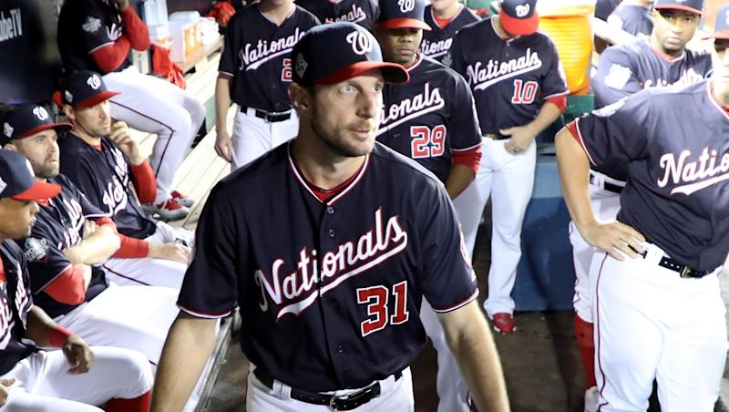 Max Scherzer on track to start World Series Game 7 for Nationals