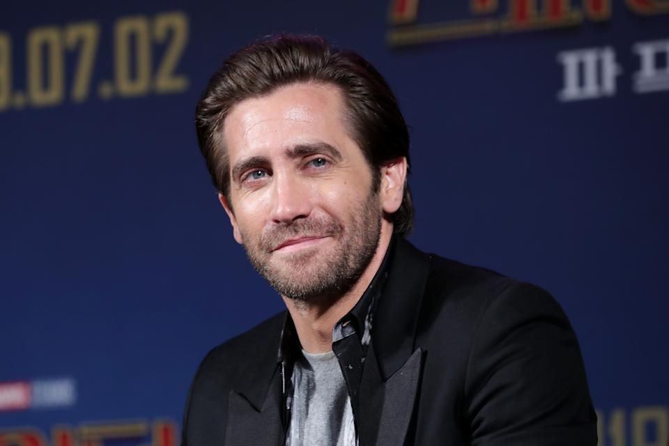 SEOUL, SOUTH KOREA - JUNE 30: Actor Jake Gyllenhaal attends 'Fan Fest' the fan-meeting event of 'Spider-Man: Far From Home' at DDP on June 30, 2019 in Seoul, South Korea.  (Photo by Han Myung-Gu/WireImage)