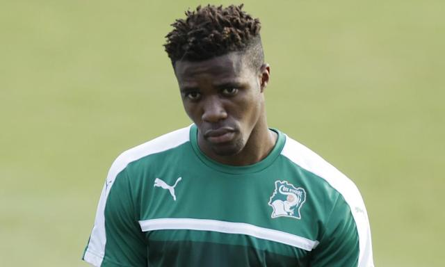 """<span class=""""element-image__caption"""">A statement from Wilfried Zaha's representative said the player 'did not impose or set a date by which he had to be selected by England'. </span> <span class=""""element-image__credit"""">Photograph: Sunday Alamba/AP</span>"""