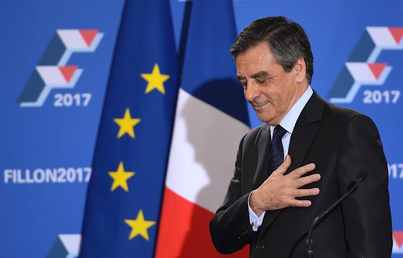 Francois Fillon is battling for the future of France, the European Union and mainstream politics in upcoming presidential elections (AFP Photo/Eric Feferberg)