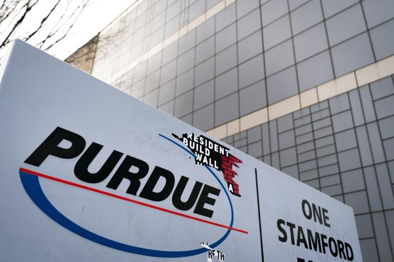 Purdue Pharma said it had filed for reorganization under Chapter 11 of the US Bankruptcy Code (AFP Photo/Drew Angerer)