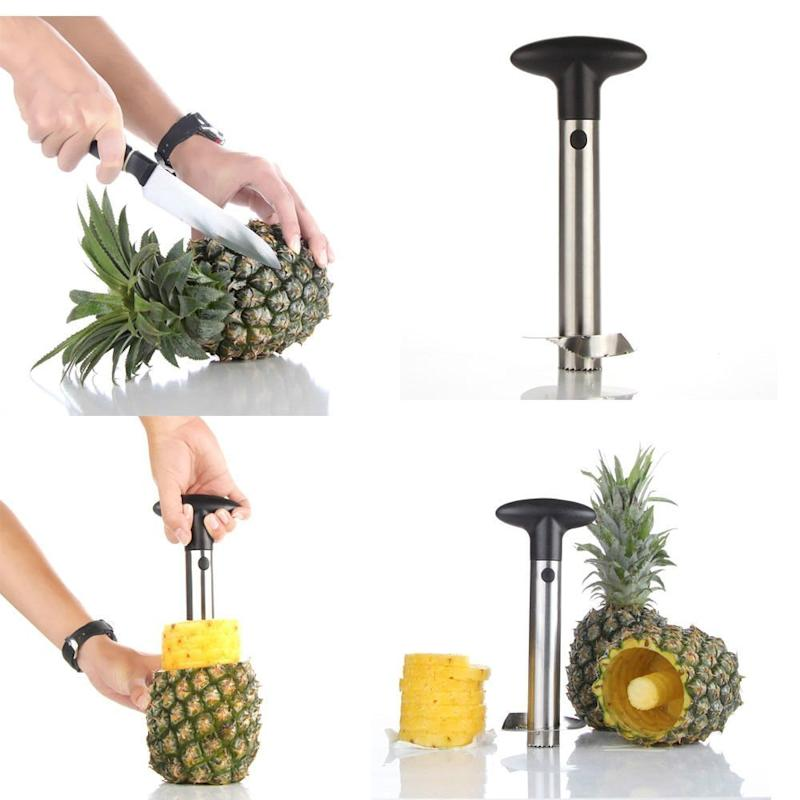 TekDeals Stainless Steel Fruit Pineapple Cutter (Photo: Walmart)