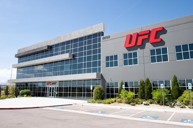 A general view of the UFC APEX on June 17, 2019 in Las Vegas. (Getty Images)