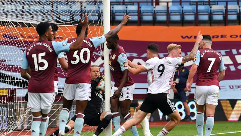 Dean Smith suggests goal-line technology failure was parting gift from father