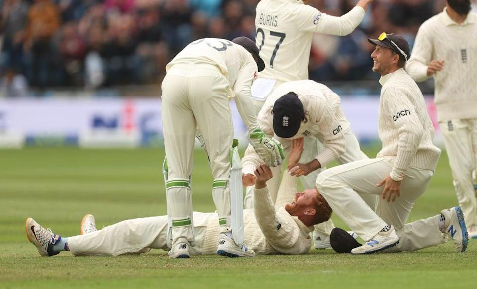 Jonny Bairstow took a brilliant catch (Action/Reuters)