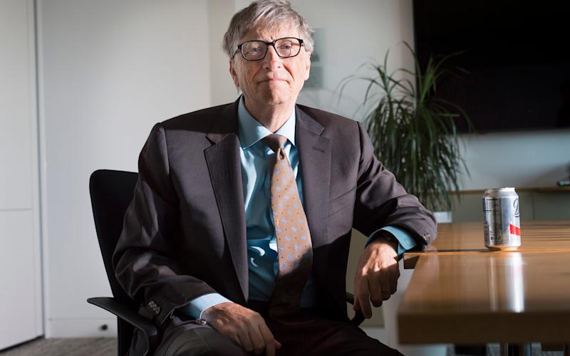 Gates was speaking ahead of a speech at the Royal United Services Institute in London - Credit: David Rose