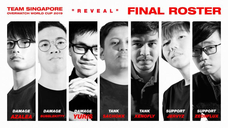 Team Singapore OWWC (Photo: Overwatch Singapore Facebook group)