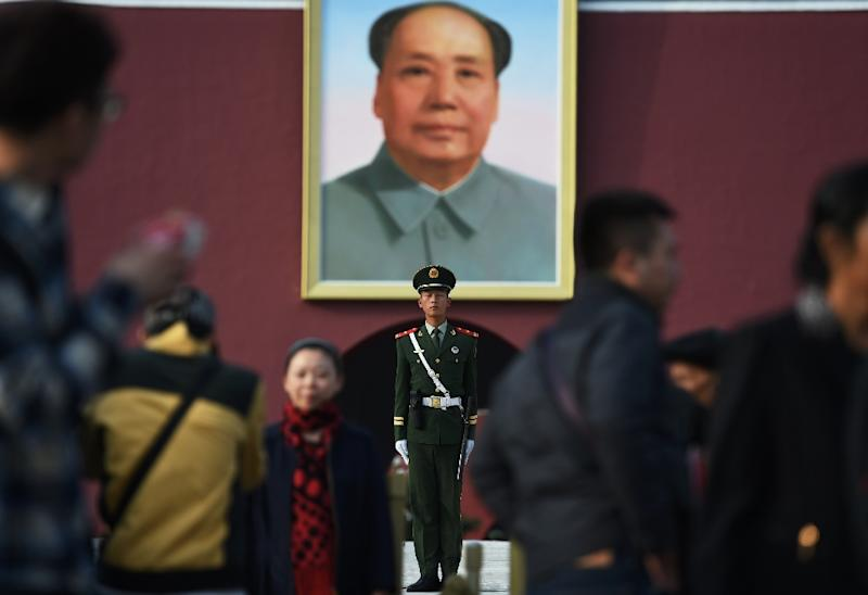 Mao Zedong - not part of a WWII summit of world leaders in Cairo, despite what a new Chinese film says