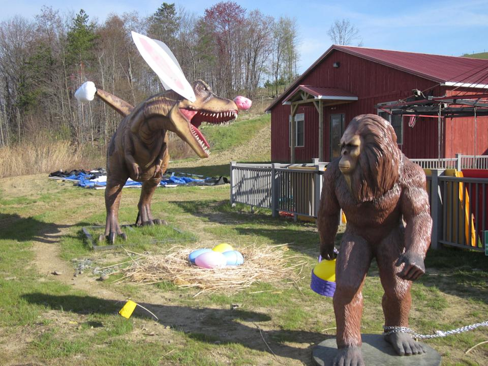 The Keystone State boasts 100 Bigfoot sightings. Also whatever is going on in this picture.