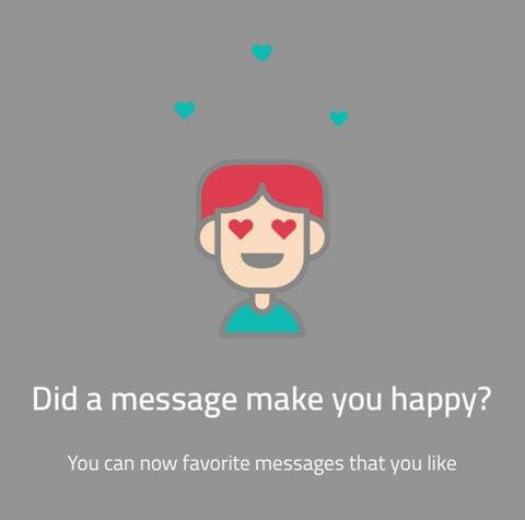 Sarahah recently added like buttons to its app - Credit: Sarahah