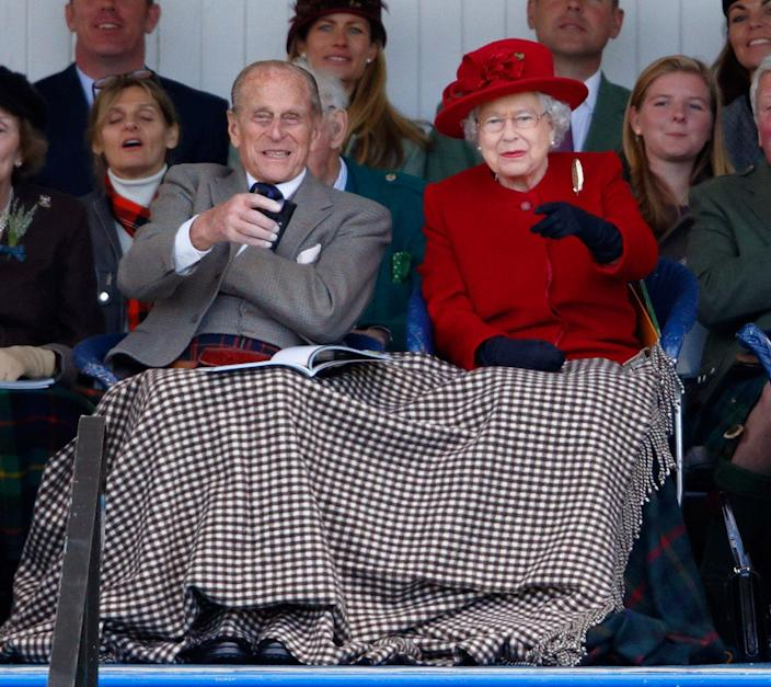 Queen and Prince Philip Braemar Gathering
