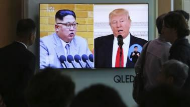Tomorrow's meeting will be the first between a sitting US president and a leader of North Korea, whose nuclear and ballistic missile ambitions have raised global concerns and seen tensions soar.