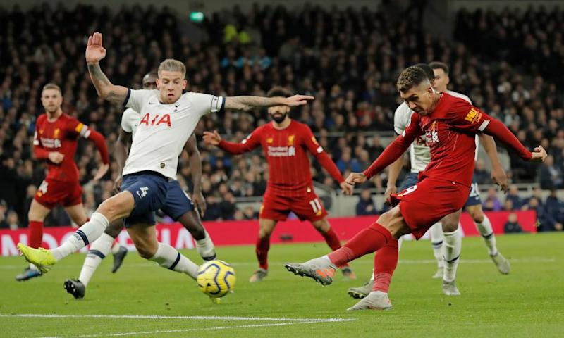 Liverpool's thrilling style brought them victory over Spurs thanks to Roberto Firmino.