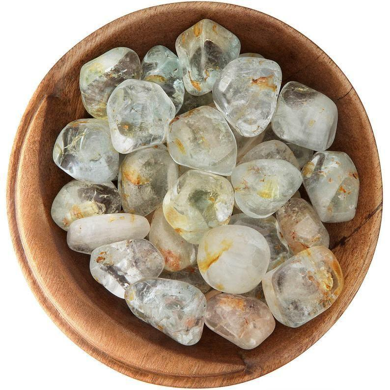 """<p><strong>MoonriseCrystal</strong></p><p>etsy.com</p><p><strong>$18.50</strong></p><p><a href=""""https://go.redirectingat.com?id=74968X1596630&url=https%3A%2F%2Fwww.etsy.com%2Flisting%2F261022719%2F1-white-topaz-ethically-sourced-tumbled&sref=https%3A%2F%2Fwww.cosmopolitan.com%2Flifestyle%2Fg37271702%2Fcrystals-for-scorpios%2F"""" rel=""""nofollow noopener"""" target=""""_blank"""" data-ylk=""""slk:Shop Now"""" class=""""link rapid-noclick-resp"""">Shop Now</a></p><p>Topaz is November's birthstone, and it's a balancing, calming, harmonizing crystal that boosts good humor, positivity, and peace. Frankly, there can't be enough of this kind of help around a Scorpio!</p>"""