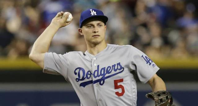 "<a class=""link rapid-noclick-resp"" href=""/mlb/players/9584/"" data-ylk=""slk:Corey Seager"">Corey Seager</a> is headed for Tommy John surgery (AP)"