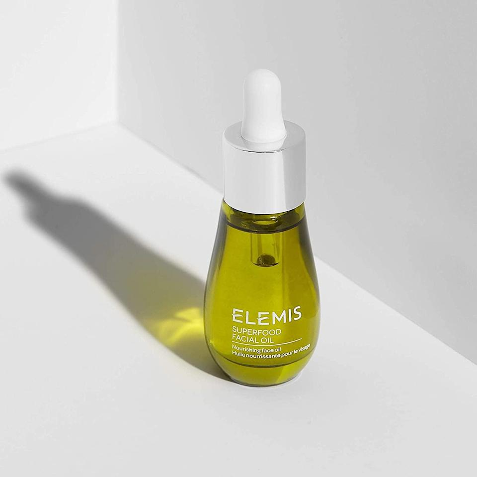 <p>Keep dry skin at bay with this <span>Elemis Superfood Facial Oil</span> ($37, originally $55). It's a lightweight oil that will nourish your skin with antioxidants and nutrients for a moisturized, glowing complexion. If you love to pamper yourself with facial massages, the facial oil will compliment your treatment.</p>