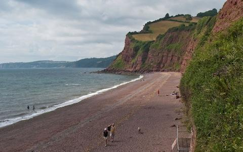 Getting to this beach – via an old smugglers' tunnel – is an adventure - Credit: ALAMY