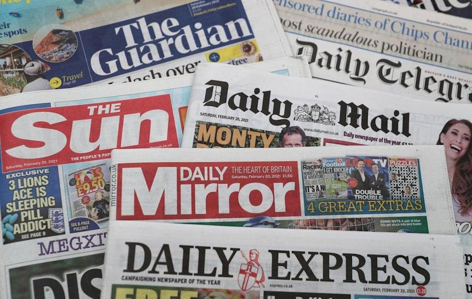 What the papers say – September 25 (PA) (PA Archive)