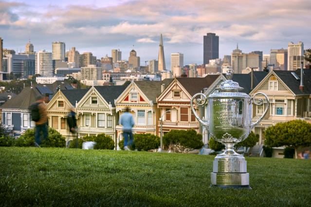 The 2020 PGA Championship will remain in San Francisco, albeit without fans. (Photo by Gary Kellner/PGA of America via Getty Images)