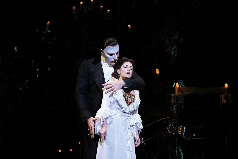 (Phantom) Jonathan Roxmouth and Meghan Picerno in a scene from Andrew Lloyd Webber's 'The Phantom of the Opera,' currently showing at Istana Budaya, Kuala Lumpur. — Picture courtesy of The Phantom of the Opera World Tour