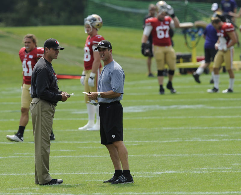 Injuries mar joint practice with 49ers and Ravens