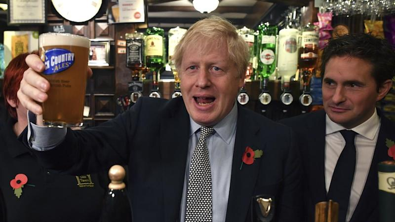 Boris Johnson says the 'groundhoggery of Brexit' will end if he wins next month's election