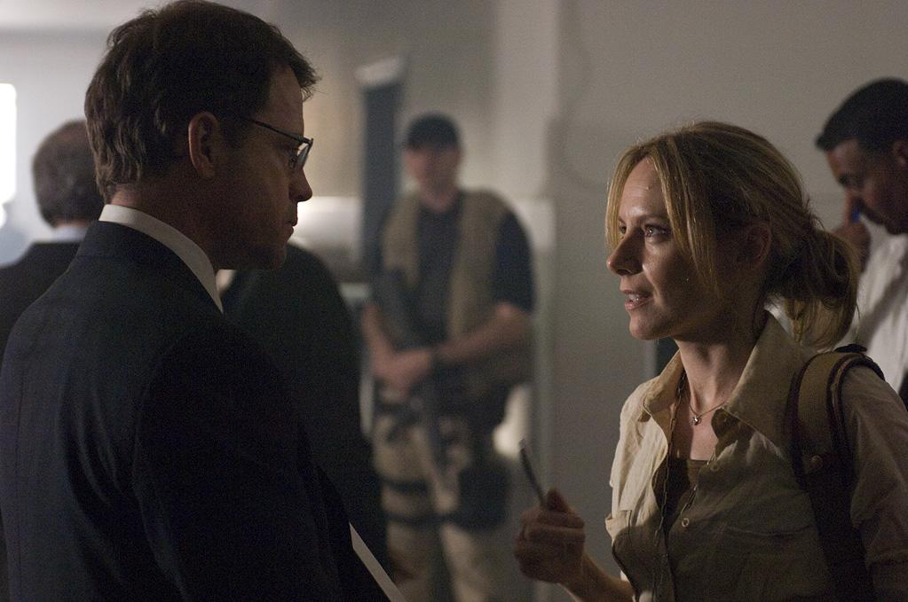 """<a href=""""http://movies.yahoo.com/movie/contributor/1800019194"""">Greg Kinnear</a> and <a href=""""http://movies.yahoo.com/movie/contributor/1800024239"""">Amy Ryan</a> in Universal Pictures' <a href=""""http://movies.yahoo.com/movie/1809976147/info"""">Green Zone</a> - 2010"""