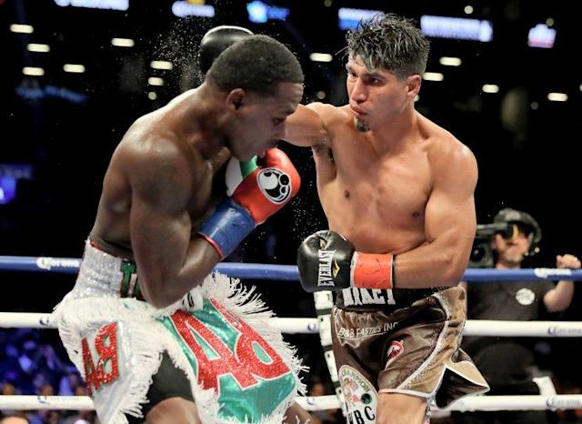 Mikey Garcia turned in the best performance of his career against Adrien Broner. (Getty)