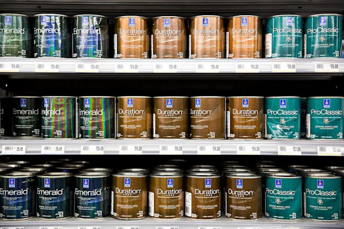 Calculate the correct amount of paint you'll need to spare yourself trips back to the store and wasted paint.