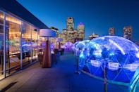 "A few years back, insulated igloos were novelties for outdoor drinking and dining in winter; this year, they're everywhere. One of our favorite igloo set-ups can be found at Boston's premiere rooftop bar, <a href=""https://www.cntraveler.com/bars/boston/lookout-rooftop?mbid=synd_yahoo_rss"" rel=""nofollow noopener"" target=""_blank"" data-ylk=""slk:Lookout Rooftop"" class=""link rapid-noclick-resp"">Lookout Rooftop</a>, with panoramic views of the snow-capped Boston skyline and icy Boston Harbor. Another fun setup is at food hall <a href=""https://www.cntraveler.com/restaurants/boston/time-out-market-boston?mbid=synd_yahoo_rss"" rel=""nofollow noopener"" target=""_blank"" data-ylk=""slk:Time Out Market Boston"" class=""link rapid-noclick-resp"">Time Out Market Boston</a>, which has plans for a number of private CB2 and West Elm–outfitted dining cubes scattered among 6,000 square feet of outdoor space. Patrons can order online from the 15 kiosks and two full-service bars and retreat to their cubes to indulge. Finally, we love the two exclusive-use igloos at the <a href=""https://www.cntraveler.com/hotels/united-states/cape-neddick/cliff-house-resort-spa-ogunquit?mbid=synd_yahoo_rss"" rel=""nofollow noopener"" target=""_blank"" data-ylk=""slk:Cliff House"" class=""link rapid-noclick-resp"">Cliff House</a> in Ogunquit, Maine, featuring the menu from the resort's famed restaurant, Nubb's Lobster Shack, alongside prime ocean views."