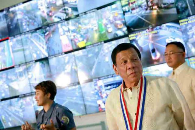 Pres. Duterte at MMDA