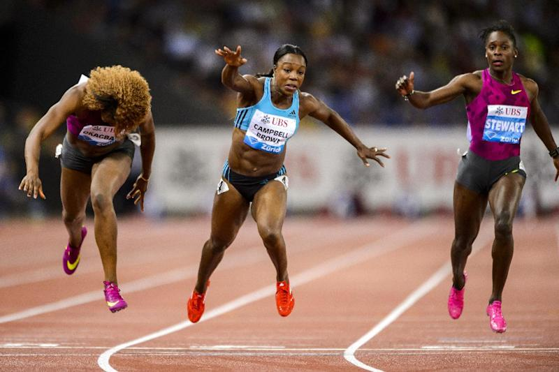 Athletics - Campbell-Brown claims Diamond League win on return