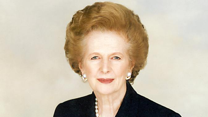 Mantan Perdana Menteri Inggris, Margaret Thatcher (Chris Collins of the Margaret Thatcher Foundation)