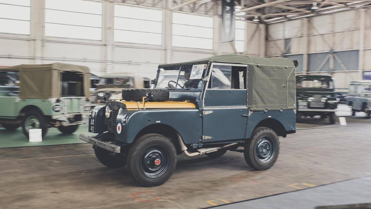 <h2>Live action arena</h2>  <p>The main hangar at Bicester Heritage provided a suitable venue for a live action arena, with lots of of Land Rovers to be spotted driving around so that attendees could admire them on the move before they broke down. </p> <p>As well as the parades featuring outstanding vehicles, there were also interviews with Land Rover owners who have performed outstanding feats and spectacular adventures in their cars, such as going on the highway.</p>