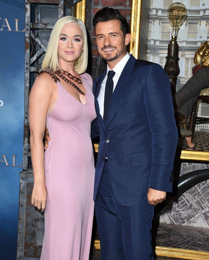"<p>Katy Perry is pretty much the definition of extra, so naturally Orlando Bloom went all out for his proposal to her. After three years of dating on and off, Orlando popped the question on Valentine's Day 2019.<br></p><p>""I got on a helicopter, and he asked me to marry him and then we landed on this building and then went downstairs and my family and friends were there and the most flowers you've ever seen,"" <a href=""https://ontheradio.co.uk/2019/05/katy-perry-tells-capital-breakfasts-roman-kemp-about-orlando-blooms-proposal/"" rel=""nofollow noopener"" target=""_blank"" data-ylk=""slk:Perry told English radio host Roman Kemp"" class=""link rapid-noclick-resp"">Perry told English radio host Roman Kemp</a>. </p><p>According to a <a href=""https://people.com/music/katy-perry-orlando-bloom-will-wed-end-year/"" rel=""nofollow noopener"" target=""_blank"" data-ylk=""slk:People source"" class=""link rapid-noclick-resp""><em>People</em> source</a>, the two plan to have an intimate ceremony before the end of the year.</p>"