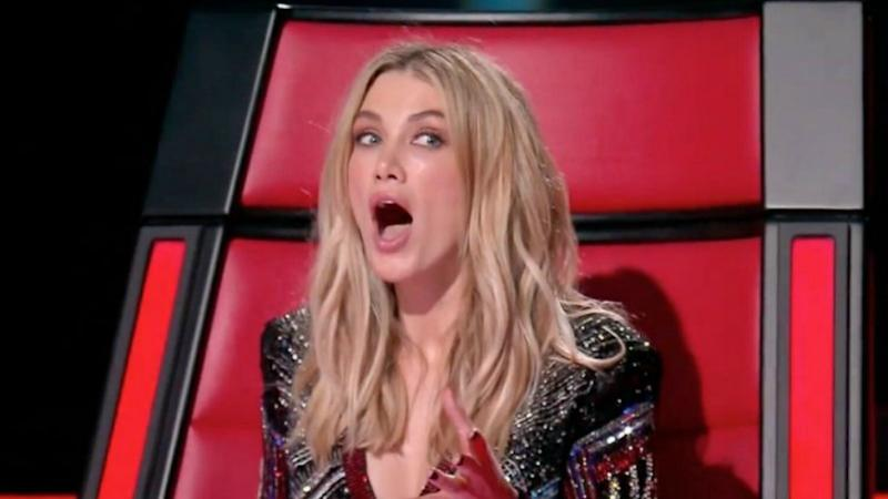 The Voice's audience has been left annoyed after a technical glitch during the show's finale featuring Delta Goodrem.