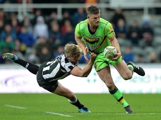 Northampton Saints centre Rob Horne forced to retire at 28 after suffering career-ending arm injury