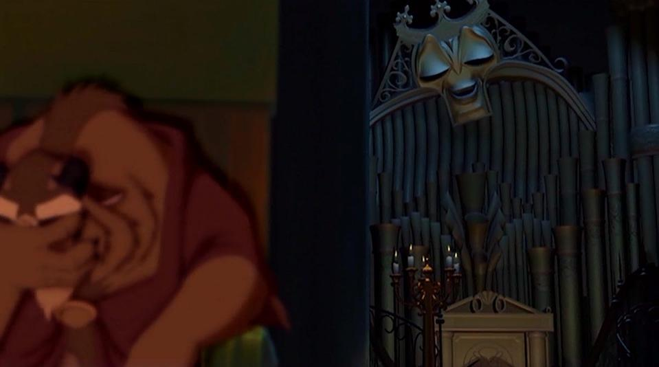 """""""Beauty and the Beast: The Enchanted Christmas"""" takes place during the events of the first film."""