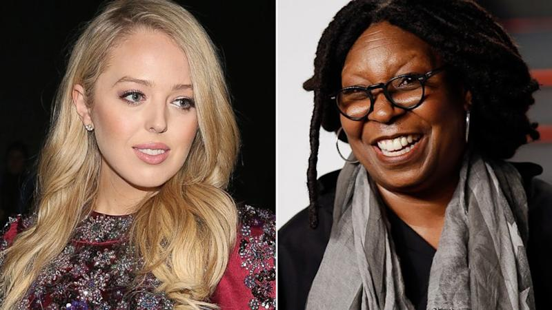 Tiffany Trump thanks Whoopi Goldberg after 'View' host offers to sit with her at New York Fashion Week
