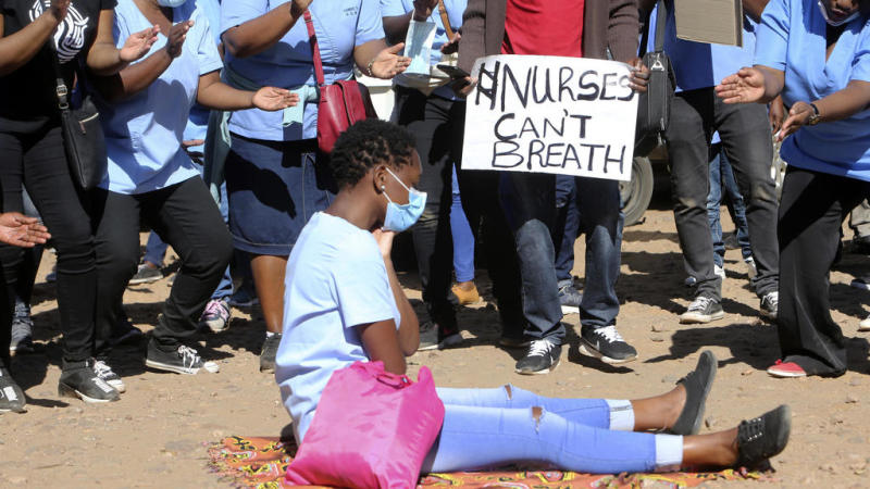 No nurses to care for the sick as Zimbabwe Covid-19 cases surge