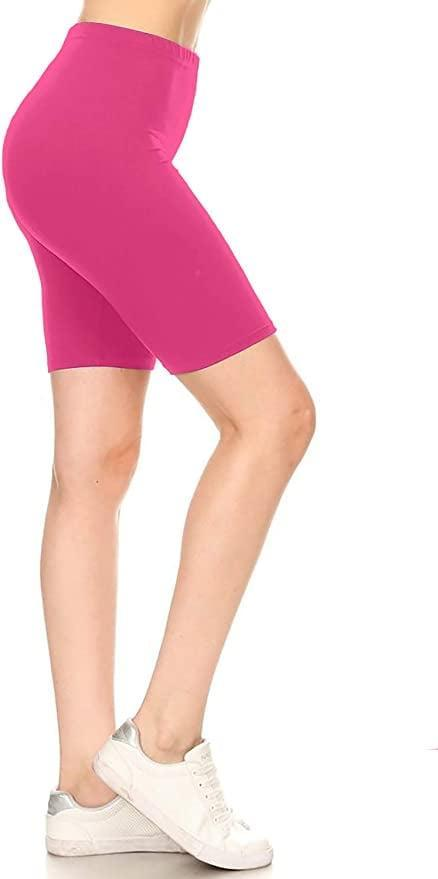 <p>These <span>Leggings Depot Biker Workout Shorts</span> ($13) come in a whopping 36 colors.</p>