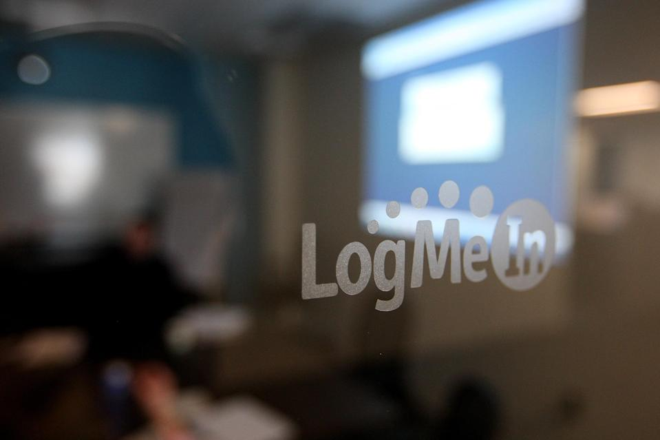 WOBURN, MA - FEBRUARY 16: LogMeIn of Woburn is a company that specializes in remote-control of computers and teleconference. Their office was photographed on February 16, 2011. (Photo by Essdras M Suarez/The Boston Globe via Getty Images)