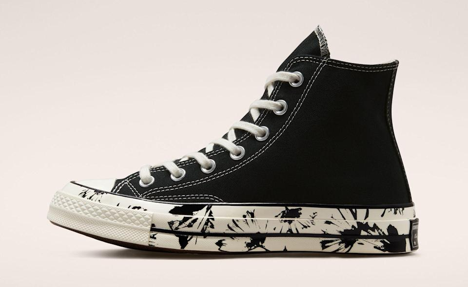"""The Converse Chuck 70 """"Hybrid Floral."""" - Credit: Courtesy of Converse"""