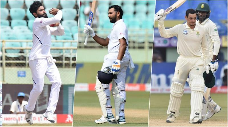 India vs South Africa, 2nd Test 2019, Key Players: Ravindra Jadeja, Rohit Sharma, Quinton de Kock and Other Cricketers to Watch Out for in Pune