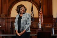 FILE PHOTO: City of Rochester Council President Loretta Scott poses for a photograph in Rochester, New York